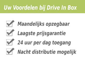 Uw Voordelen bij Drive In Box